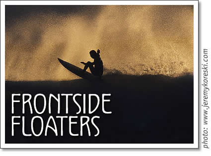 tofino surf article frontside floaters