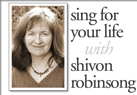 sing for your life with shivon robinsong in tofino