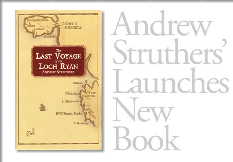 andrew struthers new book in Tofino