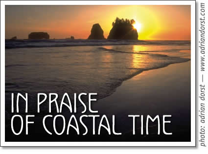 in praise of coastal time (tofino time)