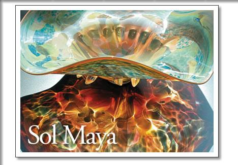 glass artist sol maya