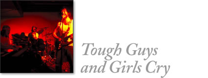 tofino concert - tough guys and girls cry