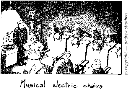musical electric chair