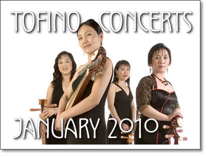 january 2010. tofino concerts january 2010