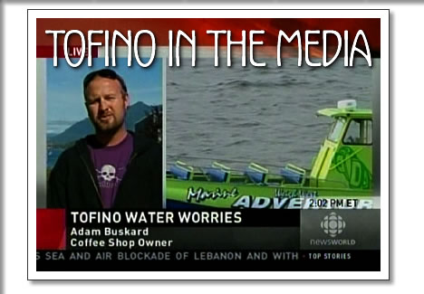 tofino in the media