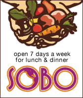 sobo restaurant in tofino