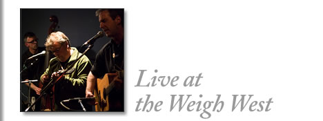 tofino concert - live at the weigh west