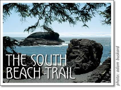 pacific rim national park - the south beach trail